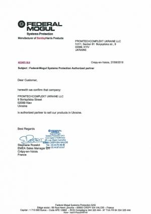 Letter_Federal_Mogul